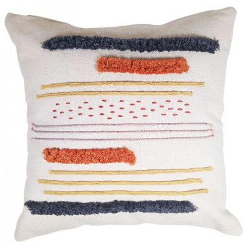 Saree Striped Cushion