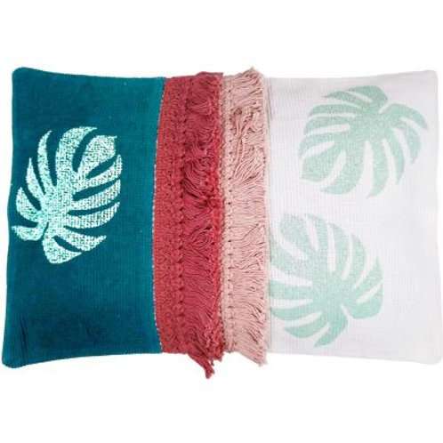 Oasis Monstera Cushion