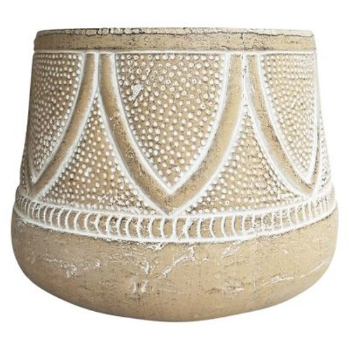 Dotted Tribal Planter