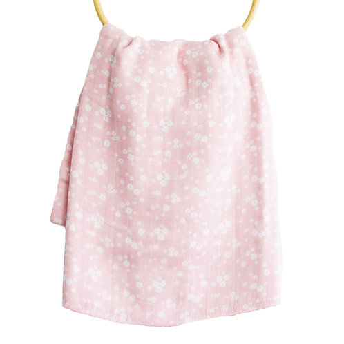 Daisy Pink Swaddle