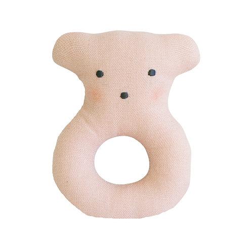 Linen Bear Ring
