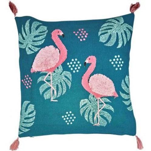 Oasis Flamingo Cushion