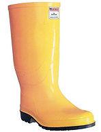 Bota caucho amarilla