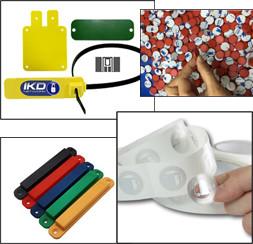 tags et étiquettes industriels
