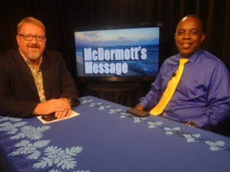 McDermott's Message – Rep. McDermott and  Darryl Vincent US Vets