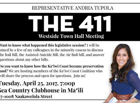 Westside Townhall Meeting