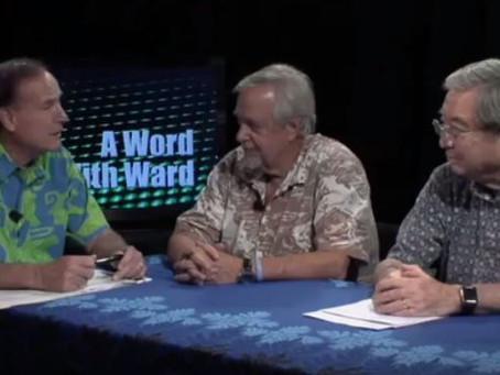 A Word with Ward Host Rep. Ward – Shield Law Dec 2015