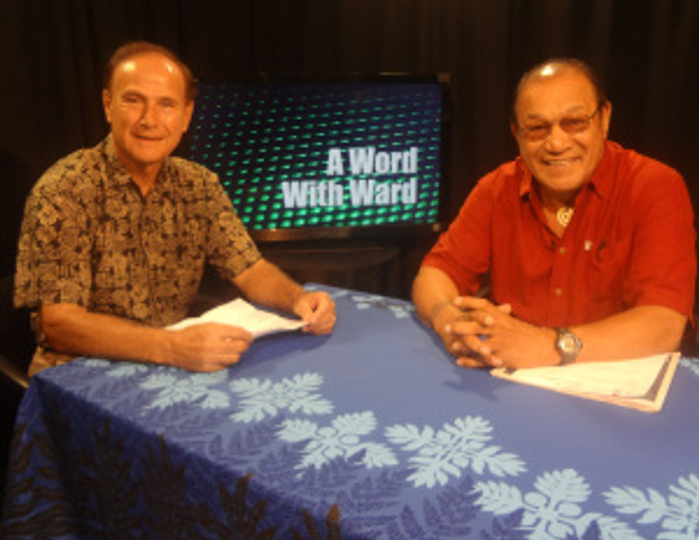 Peter Apo and Rep. Ward