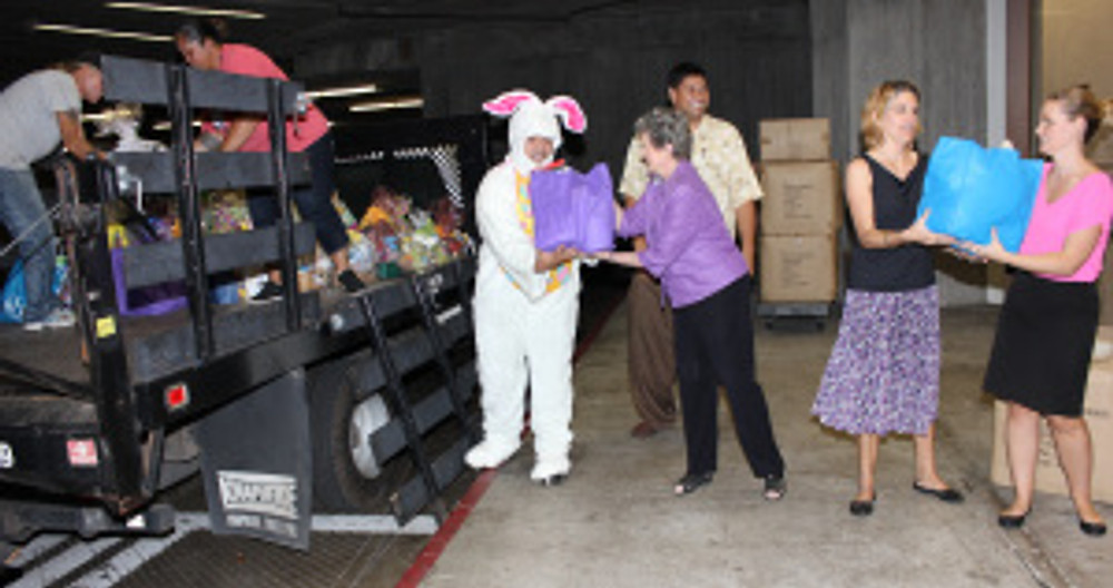 Easter Loading the Truck