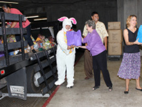 The 2015 Women's Legislative Caucus Easter Basket donation drive