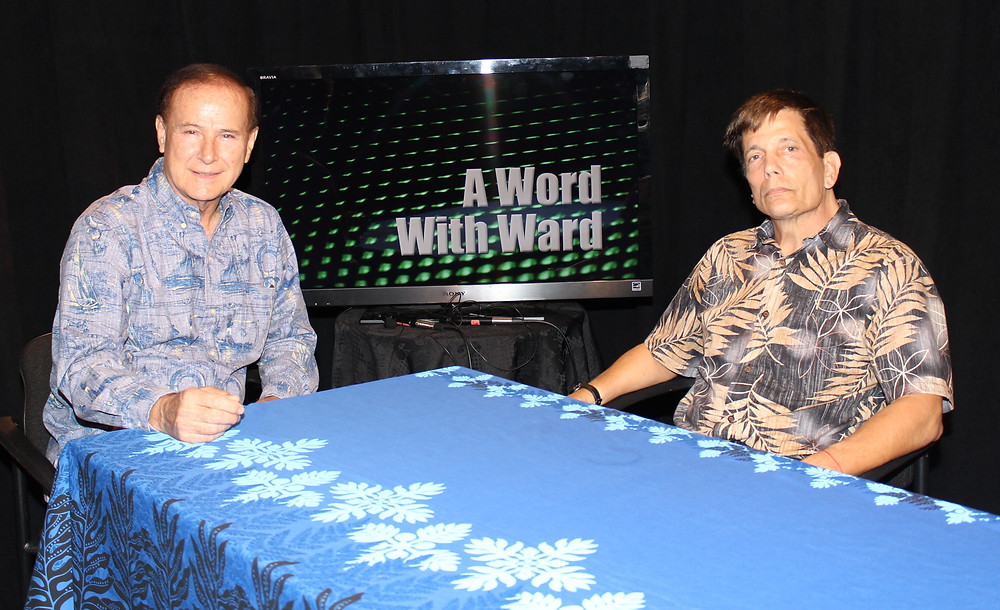 Mike Goodman and Rep. Ward