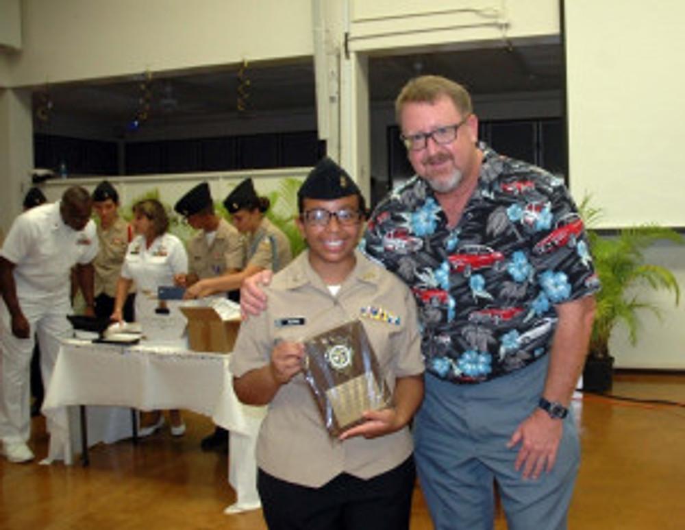 JROTC Cadet Aryha Silvas