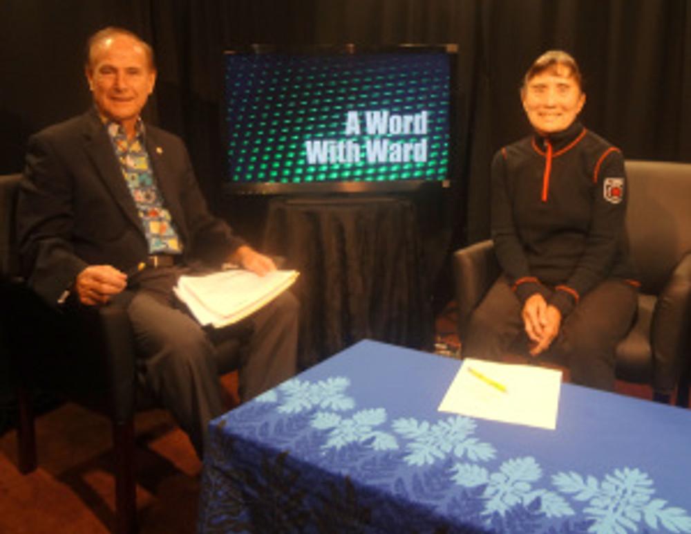 Dr. Emogene Yoshimura and Rep Ward