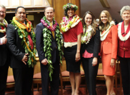 Hawaii House of Representatives Minority Caucus Introductions 2015