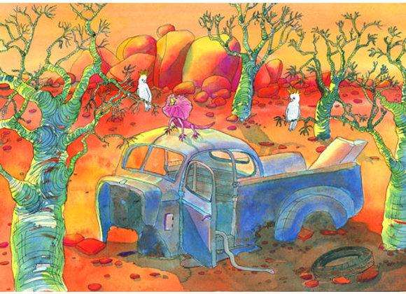 1039. Desert Dwelling