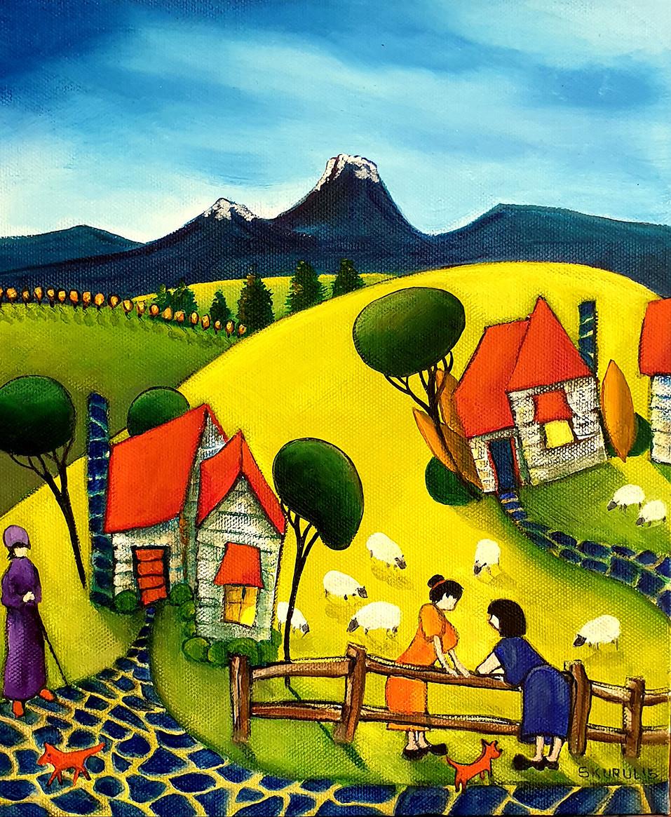 789     8 Sheep in the paddocks