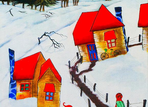 1434.  Fun in Snow Town