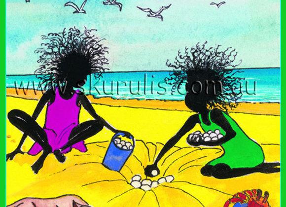 895. Fun at the Beach