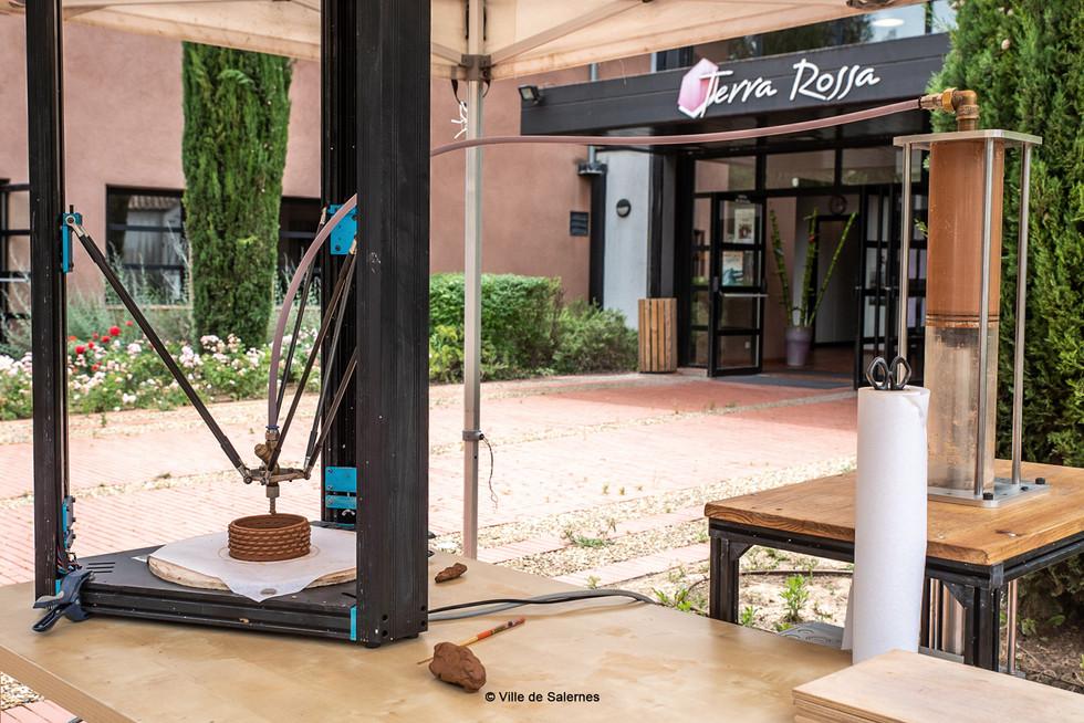 Démostration @Maison de la Céramique Architecturale - Salernes