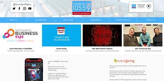 Swindon 105.5 Website