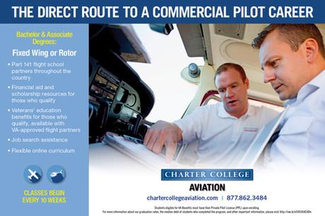 Pilot School Advertisement