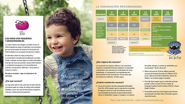 Immunization Brochure - Spanish version