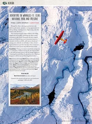 Travel Catalog Page