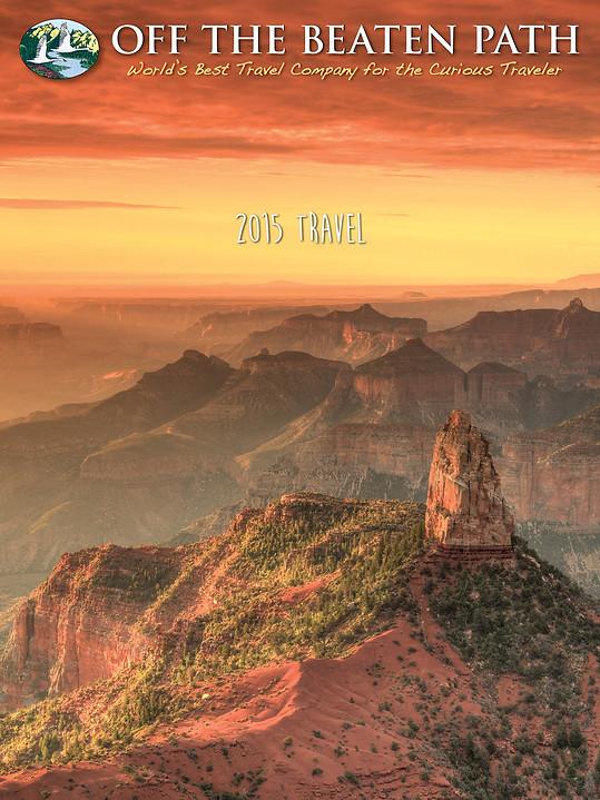 Travel Catalog Cover