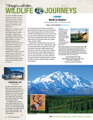 Travel Catalog Intro & Trip Page