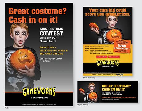 Poster, eBlast, Web Banner Campaign