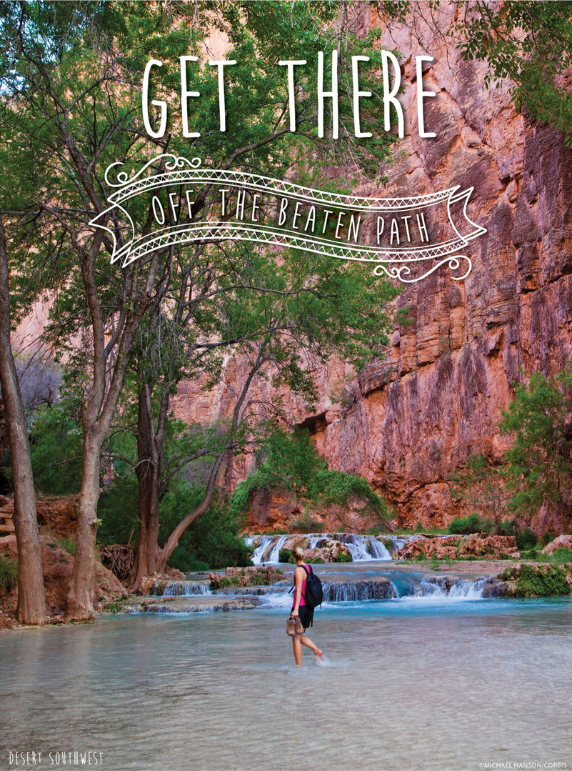 Travel Brochure Cover