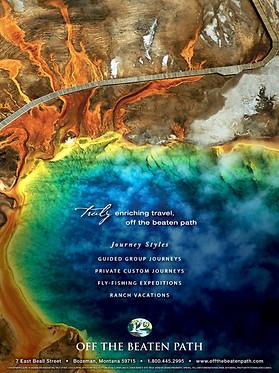 Travel Catalog Back Cover