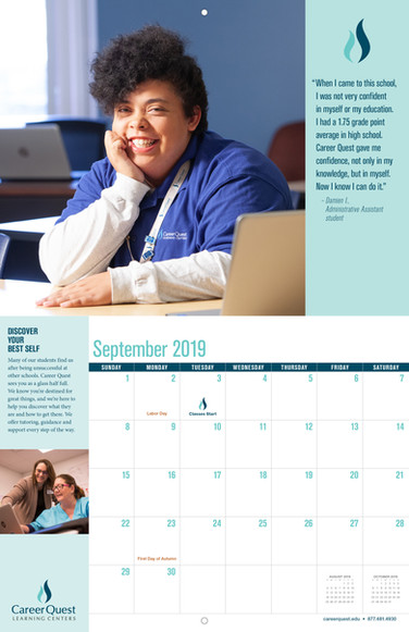 Calendar Spread - September