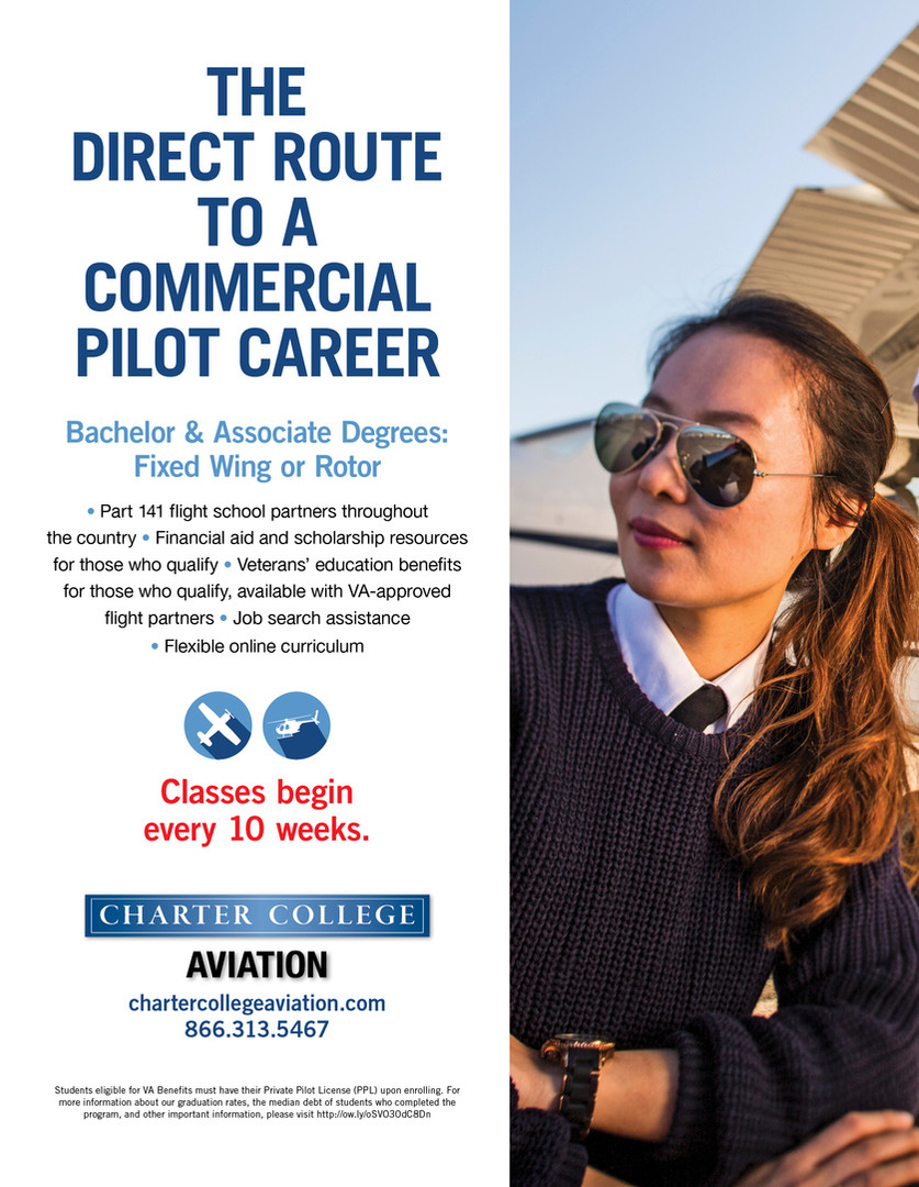Pilot School Advertisement