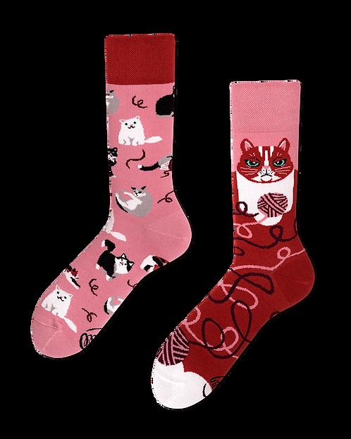 """Socken """"plyaful cat"""""""
