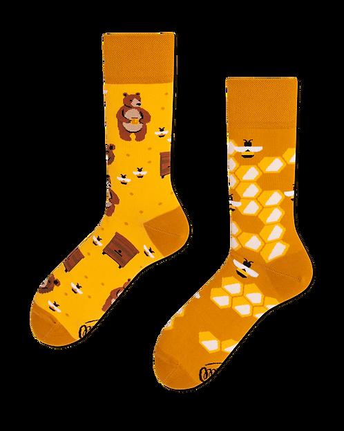 """Socken """"honey bear"""""""