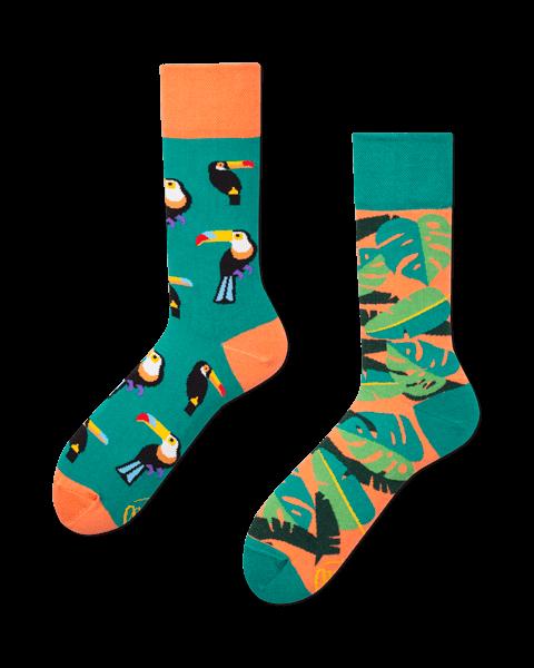 "Socken "" tropical heat"""
