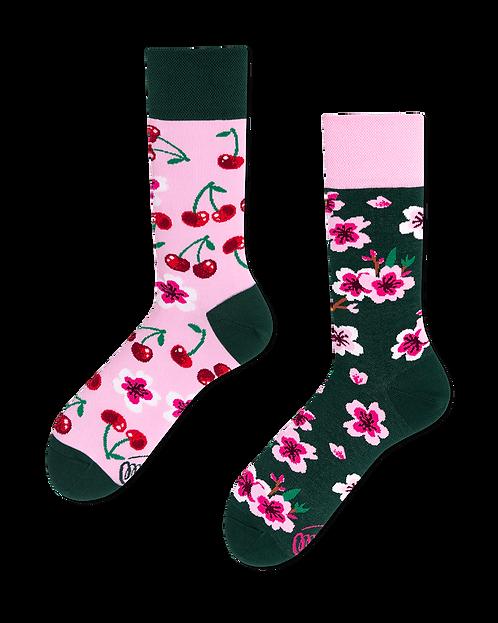 "Socken ""cherry blossom"""