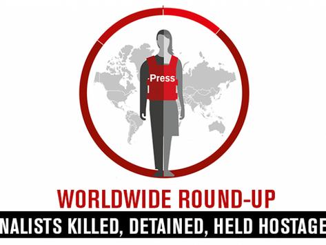 Årssammanställning 2019: Färre journalister dödas i tjänsten samtidigt som fler fängslas
