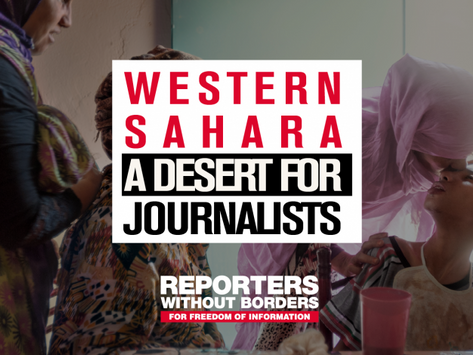 Ny rapport ger röst åt Västsaharas tystade journalister