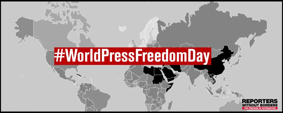 Vain yhdeksän prosenttia maailman väestöstä elää maissa, joissa lehdistönvapauden tilanne on hyvä
