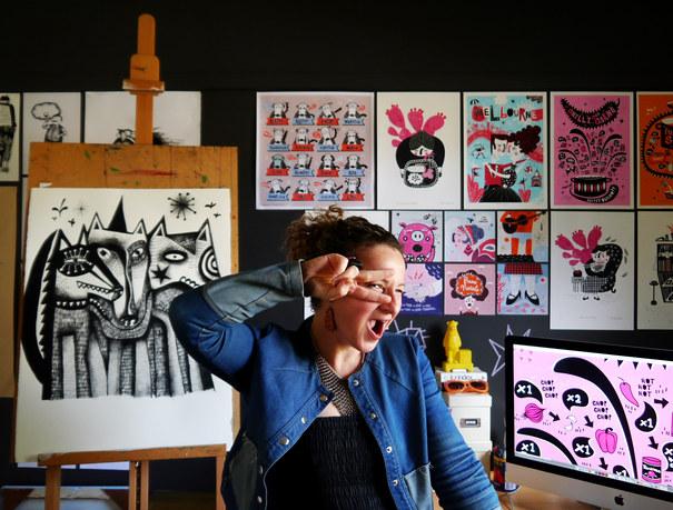 Tonia Composto. Illustrator & Graphic Designer. Lemon Chicken Por Favor.