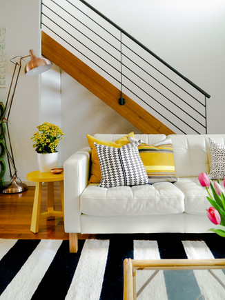 Fitzroy property. Design/Styling - Eclectic Creative