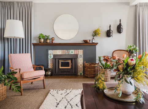Belgrave South project. Interior design by Eclectic Creative.
