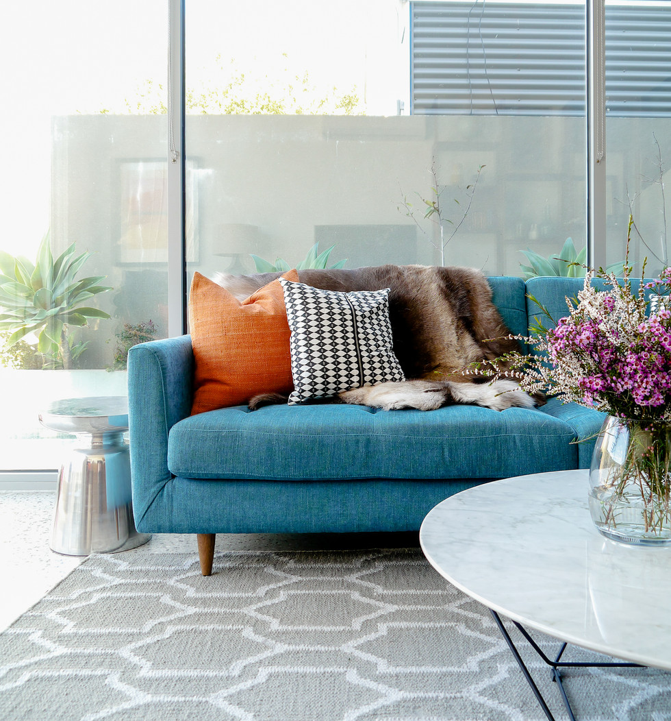 Yarraville property. Design/Styling - Eclectic Creative
