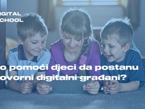 Kako pomoći djeci da postanu odgovorni digitalni građani?
