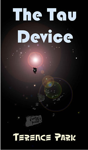 The Tau Device, SF front cover, SF Aliens, Robots, Colonizing, Terence Park
