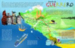 Regiones Culturales de Guerrero Infografia por Jacinto Adano