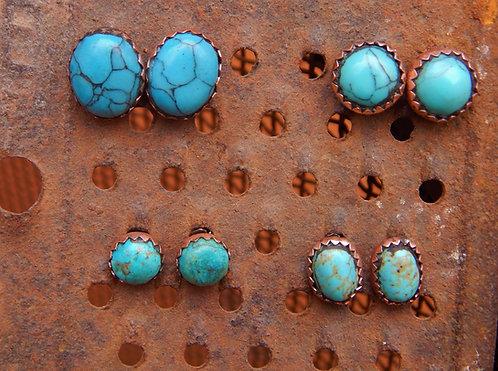 Basic Turquoise Studs