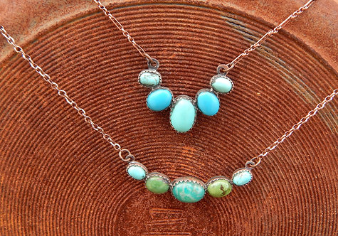 Five Stone Necklaces